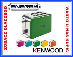 Toster marki Kenwood w kolorze soczystej zieleni w cenie 175zł @ Mall