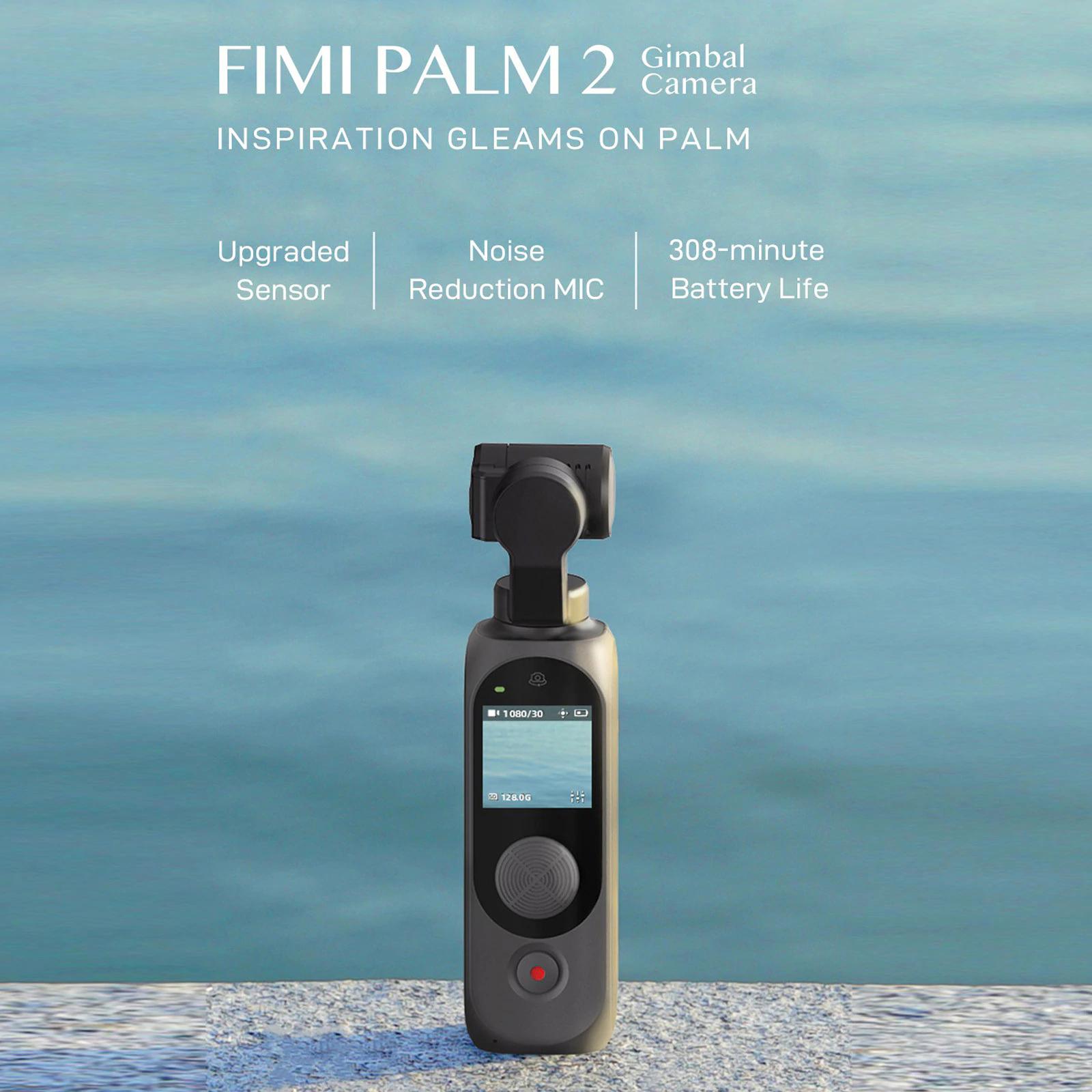 Xiaomi FIMI Palm 2 Gimbal Camera - darmowa dostawa z Magazynu w Polsce -190,84 USD