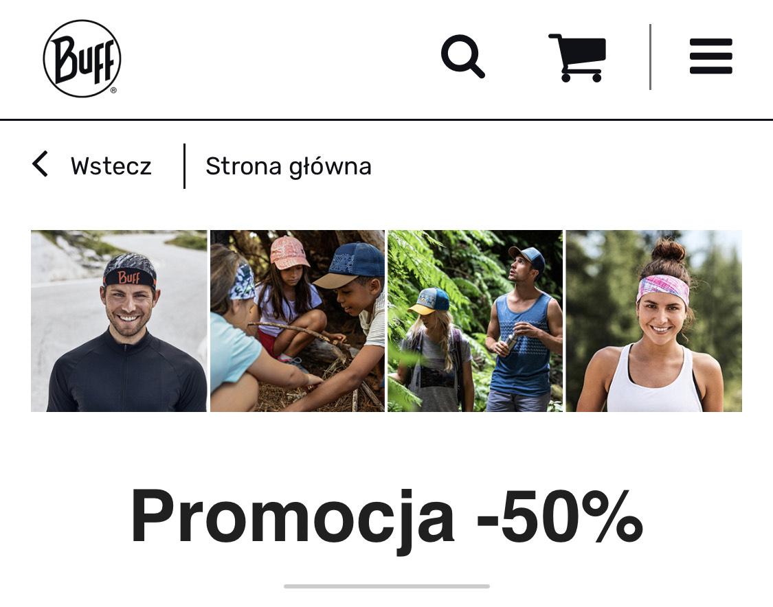 Buff 50% zniżki na wybrane produkty