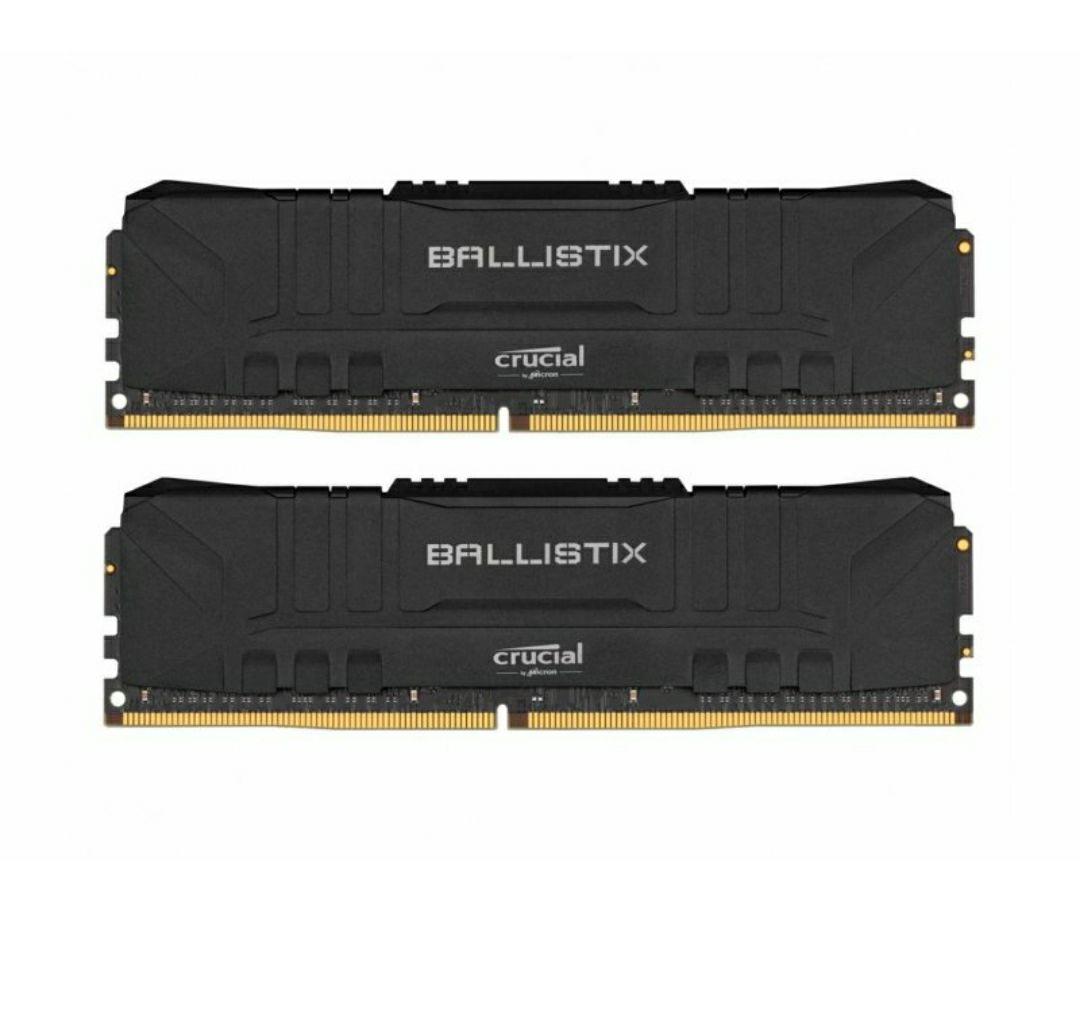 Crucial 16GB (2x8GB) 3000MHz DDR4 CL15 Ballistix Black