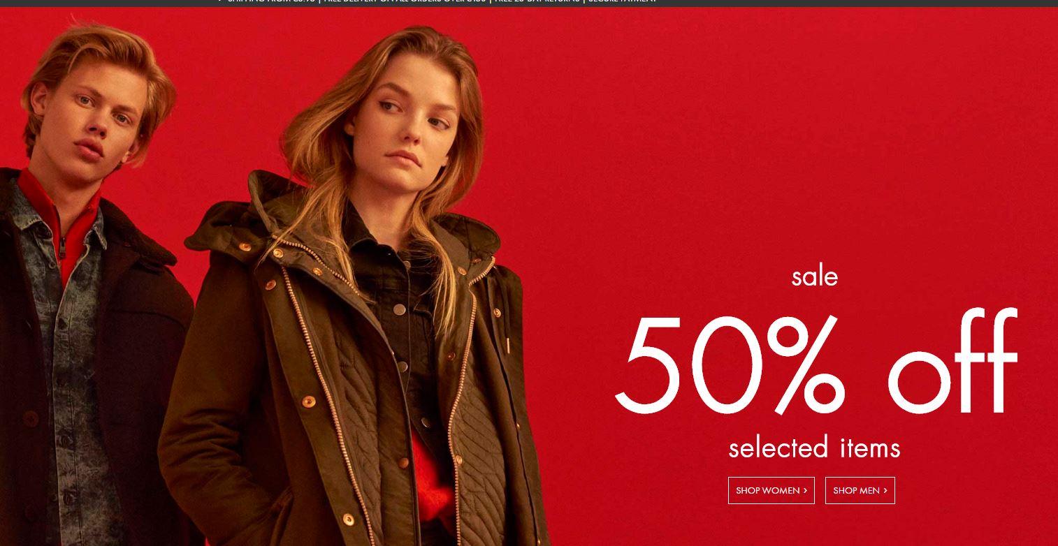 [Wyprzedaż] do 50% taniej + 10% dodatkowego rabatu @ Calvin Klein