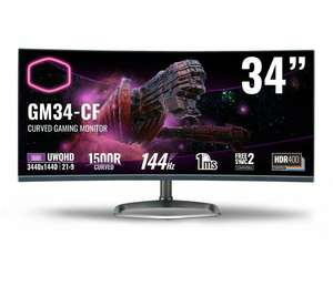 Monitor Cooler Master GM34-CW Curved
