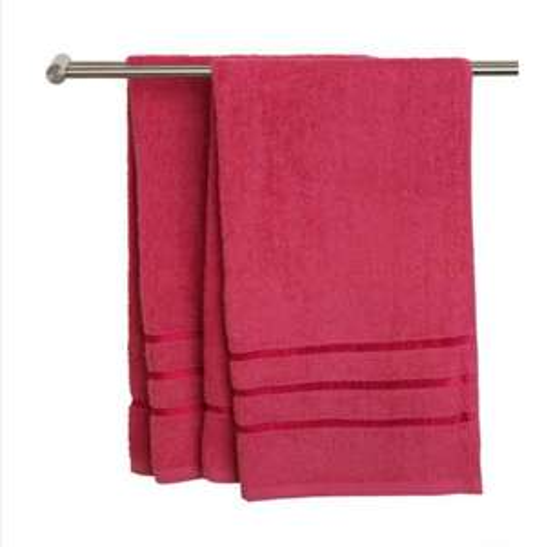 Ręcznik YSBY 65x130cm Różowy 100% bawełny, 50x90 w cenie 6zł, 30x50 cena 2zł.