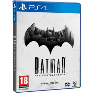 Batman: The Telltale Series za 66zł [PS4] @ TheGameCollection