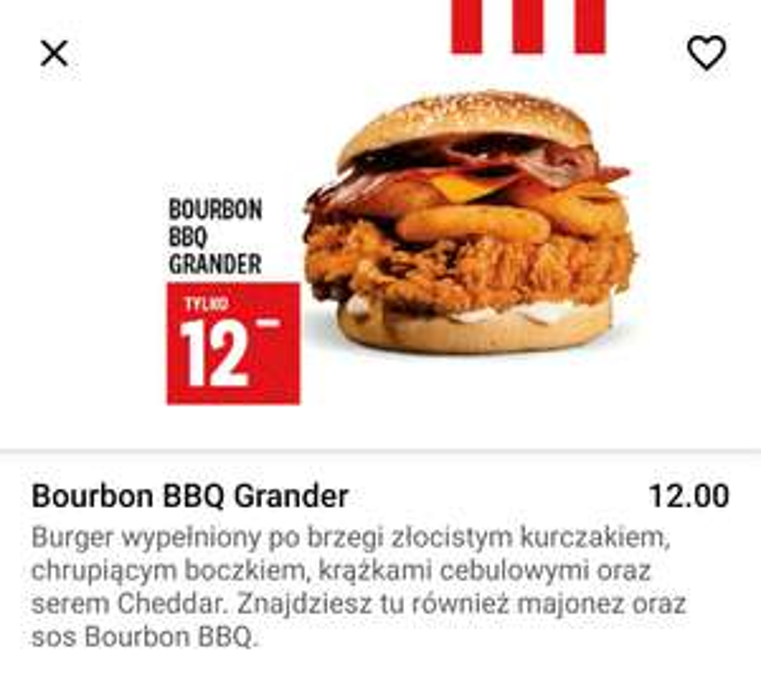 KFC Bourbon BBG Grander