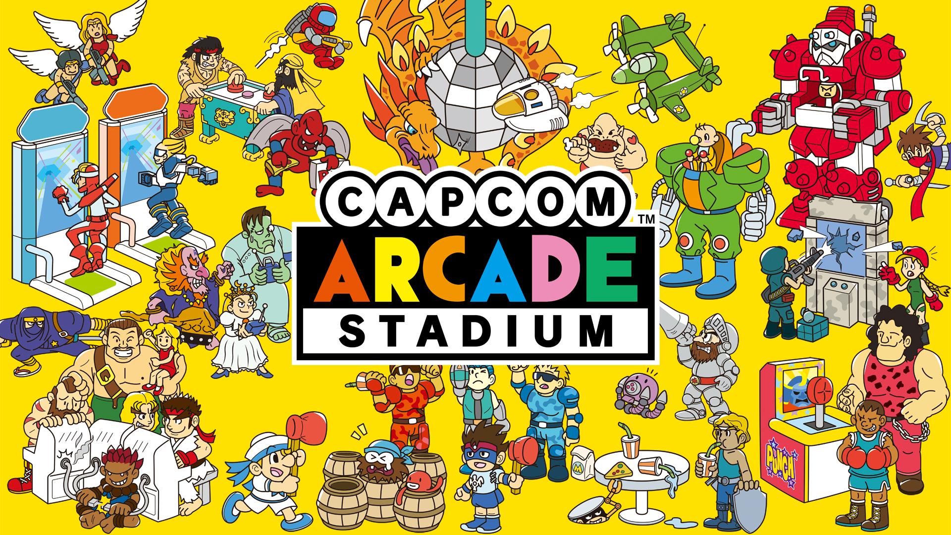 Ghosts 'n Goblins oraz 1943 The Battle of Midway za darmo w Capcom Arcade Stadium do 25 lutego @Nintendo Switch