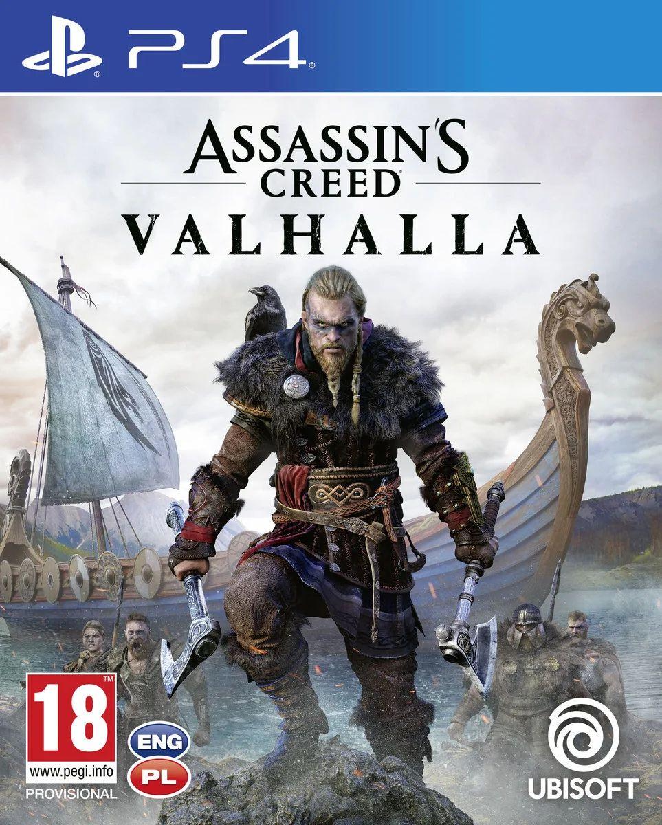 Assassin's Creed Valhalla PS4 - odbiór w salonie