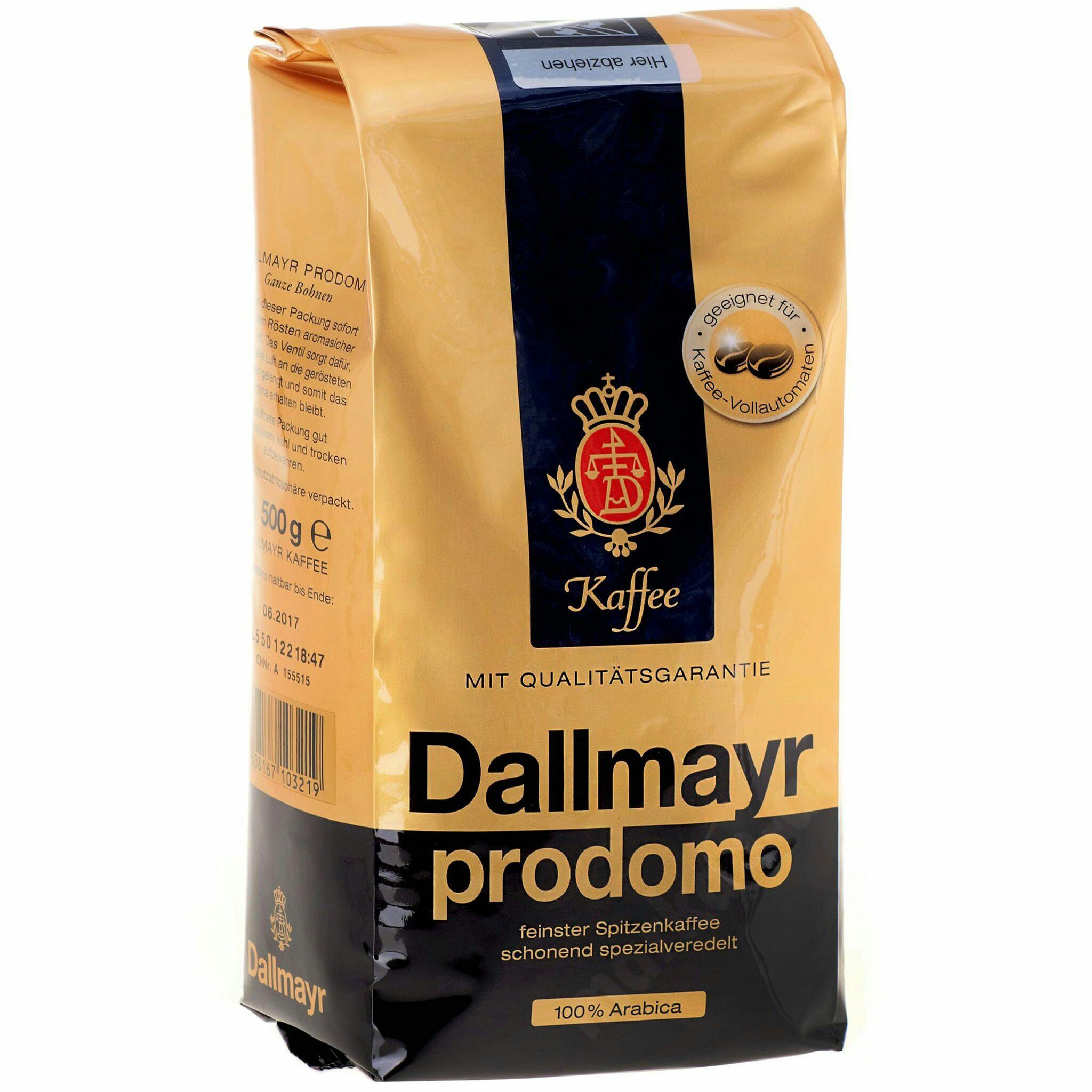 Kawa ziarnista Dallmayr Prodomo 500g. Intermarche
