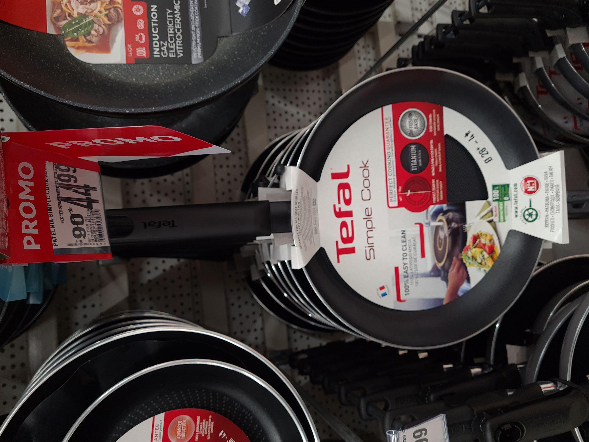 Patelnia Tefal Simple Cook 28 cm Auchan