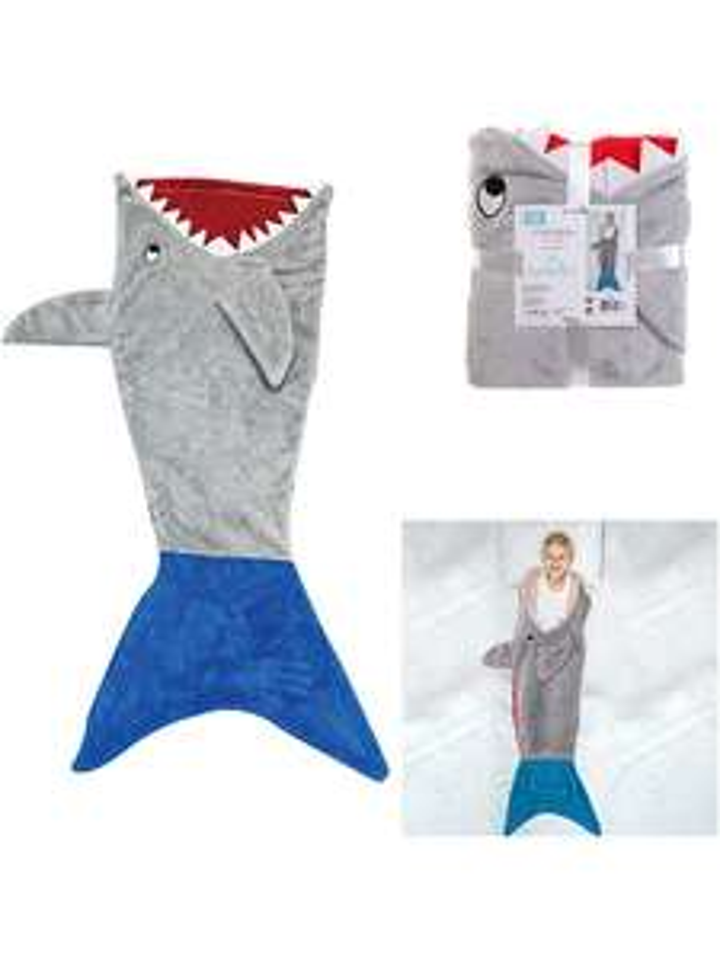 Koc-śpiwór rekin The Home Deco Kids @Limango + dywan w klasy za 69,95 zł