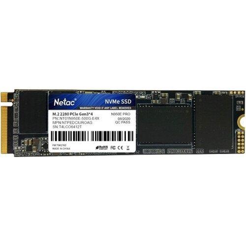 Dysk SSD NETAC N950E Pro 500GB Nvme