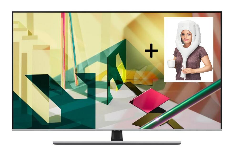 Hełm czołgisty + TV Samsung 75QE74TAT (100hz, HDMI 2.1, QUANTUM DOT) + zestaw oświetlenie philips hue o wartośći 700zł*