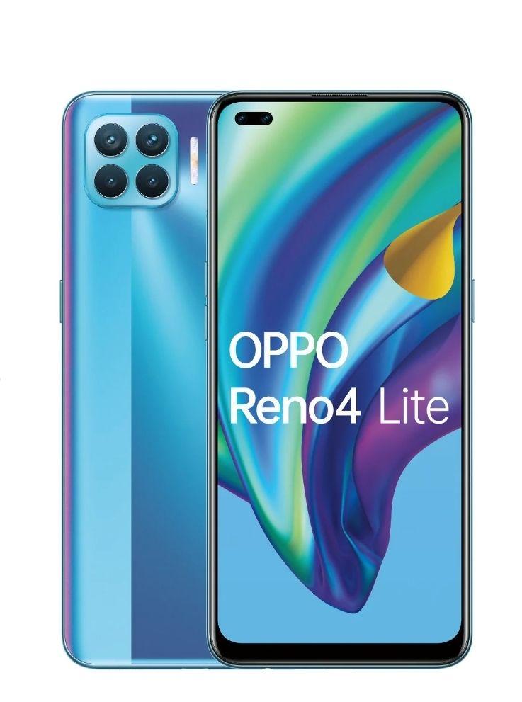 Smartfon Oppo Reno4 lite kolor niebieski, czarny i biały
