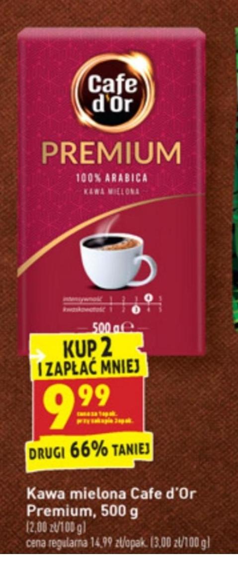 Kawa cafe d'or PREMIUM 500g
