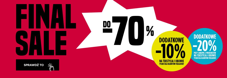 Wyprzedaż 50%-70% GoSport świetne ceny + dodatkowe 20% od cen z wyprzedaży