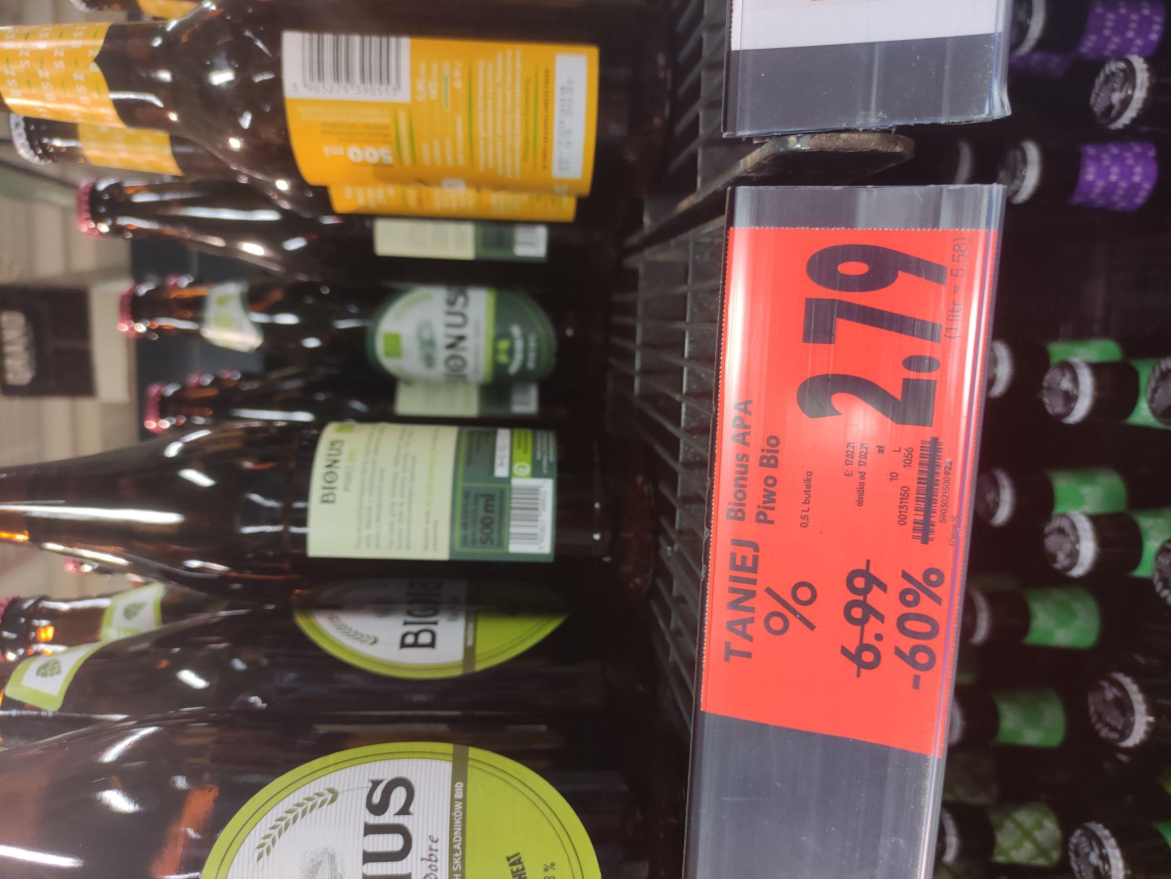 Piwo Bionus APA Kaufland (Dzierżoniów)