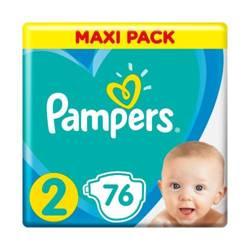 Pampers rozmiar 2 76 sztuk (0,40 zł/sztukę)- darmowa dostawa od 150 zł i możliwy cashback z Everydayme