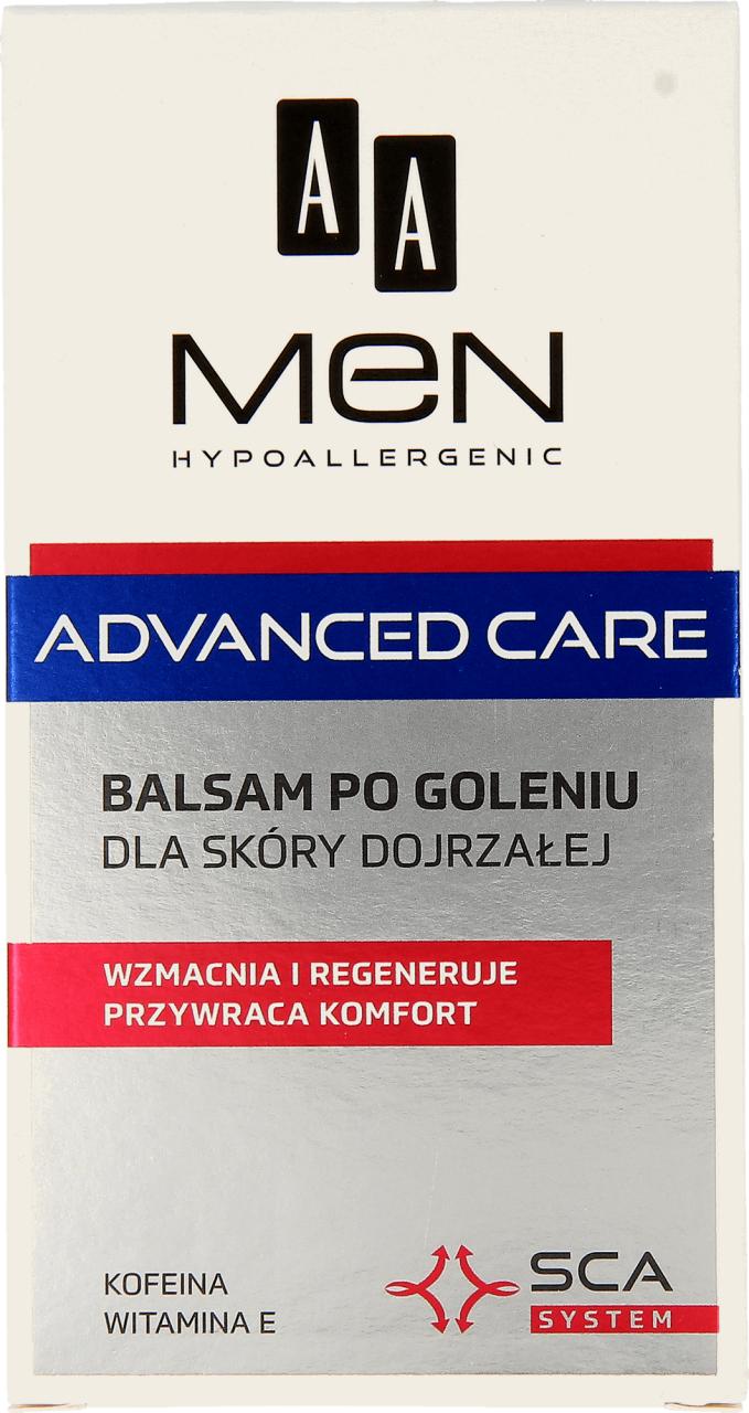 AA MEN - balsam po goleniu dla męskiej, dojrzałej skóry, 100 ml (i inne AA MEN po 13,99), stacjonarnie i online Rossmann
