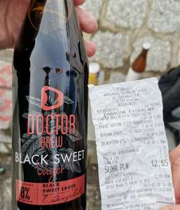 Piwo Dr brew Black sweet