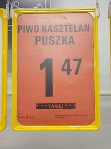 Piwo Kasztelan Jasne sklep Netto