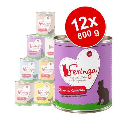 Karma mokra dla kota Feringa 12 x 800 g (12,48 zł/kg)