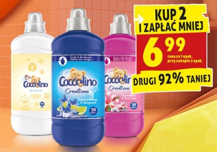 Płyn Coccolino 1,45l przy zakupie 2 opakowań
