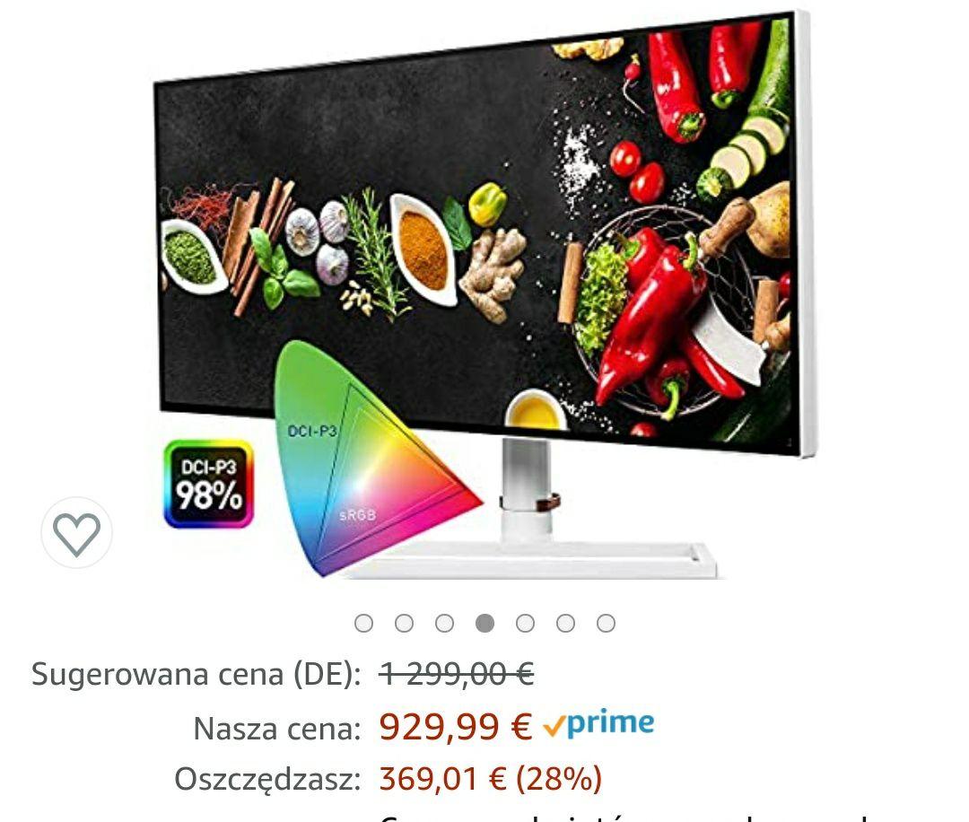 "MSI Prestige PS341WU 34"" monitor 5K WUHD 5120 x 2160 961,25 eur"