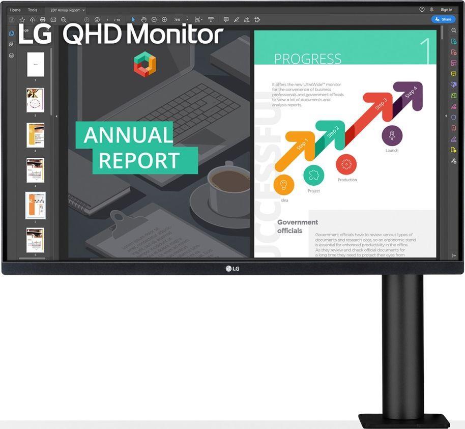 Monitor LG Ergo 27QN880-B
