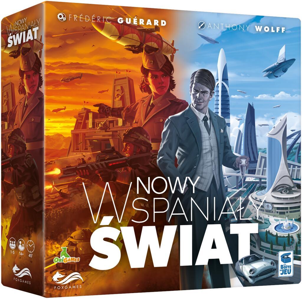 Gra planszowa - Nowy wspaniały świat (BGG 7.9) @Empik / Gra strategiczna, przygodowa