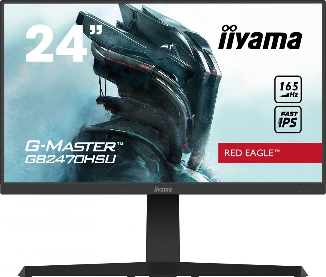"Monitor iiyama G-Master GB2470HSU-B1 Bestseller! Tylko 19 godzin 24"" 1920X1980 HDMI DISPLAY PORT"