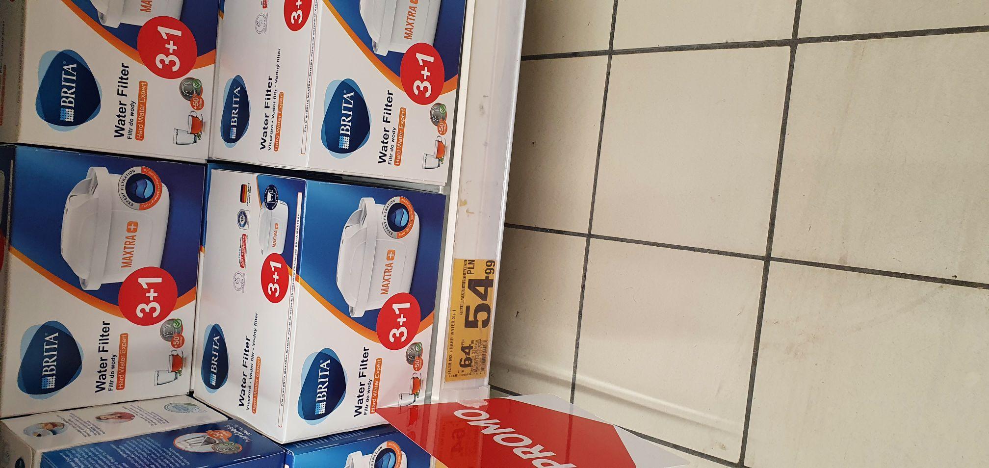 Brita maxtra filtry 4szt. (1szt=13.70zł) @ Auchan