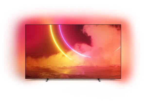 "TV OLED 65"" PHILIPS 65OLED805 + Czajnik BOSCH TWK3A013 + Grill elektryczny RAVANSON GE-7050"
