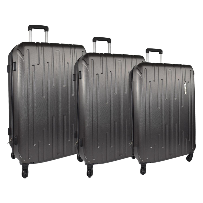 Walizki podróżne Semi Line, twarde, ABS, kpl 3 szt: 40,64 i 99 litrów