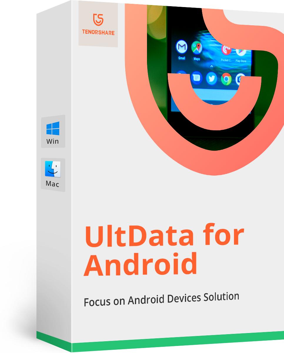 Bezpłatna licencja Tenorshare UltData-Android Data Recovery