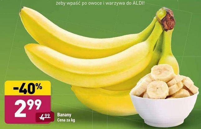 Banany 2,99zł/kg, limonka 0,69zł/szt, brokuł 2,99zł/szt, kalafior 4,99zł/szt @Aldi