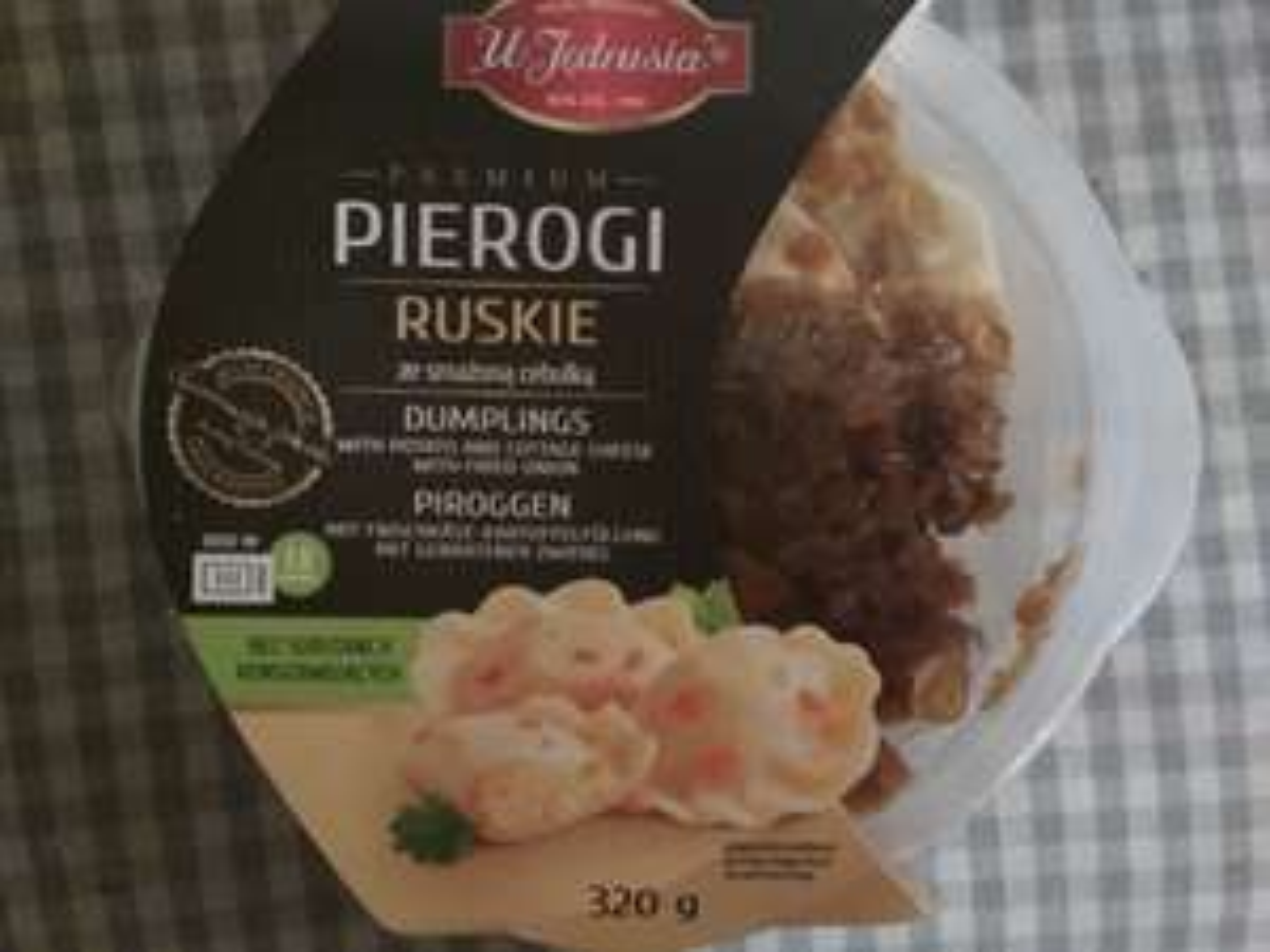 "Pierogi ruskie i z mięsem ""u Jędrusia"" Biedronka"