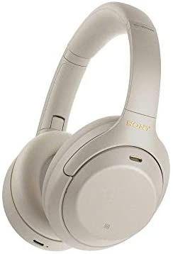 Słuchawki bezprzewodowe bluetooth Sony WH-1000XM4 z cyfrową redukcją hałasu, srebrne. (Amazon.de).