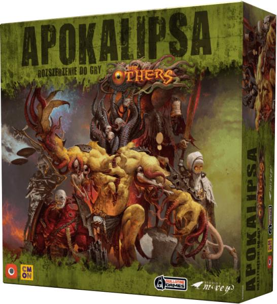 Gra planszowa - The Others: Apokalipsa - Dodatek (BGG 7.9) @Nieprzeczytane / Gra strategiczna, przygodowa