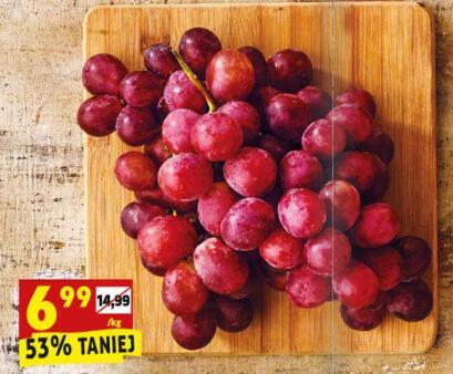 Winogrono różowe