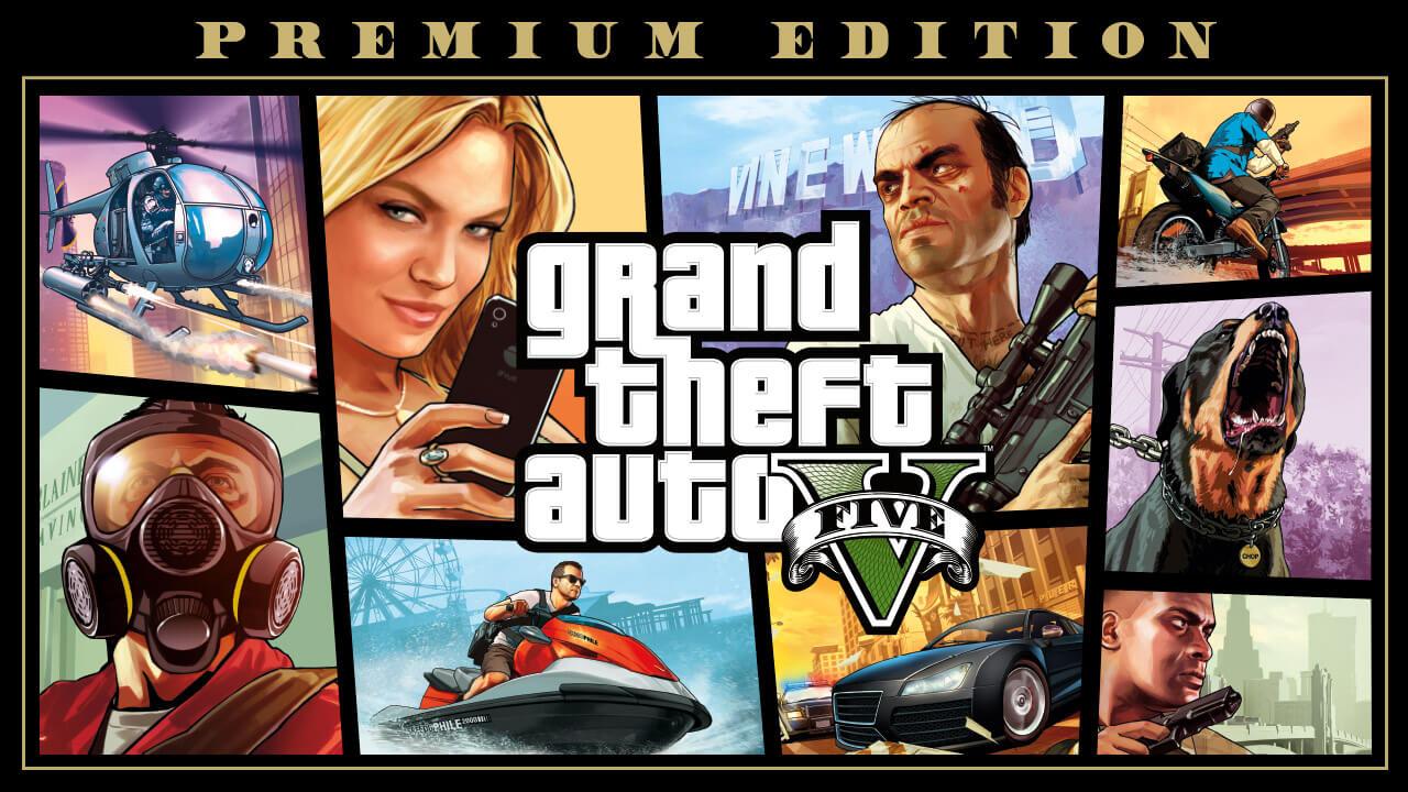 Grand Theft Auto V Premium Edition -50%