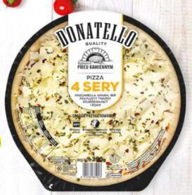 Pizza 4 sery Donatello, cena przy zakupie 2 @Biedronka