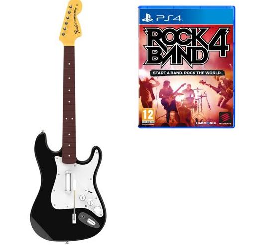 Rock Band 4 PS4 + Gitara za 169 (50zł na następne zakupy płacąc masterpass)