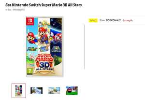Gra Nintendo Switch Super Mario 3D All Stars outlet