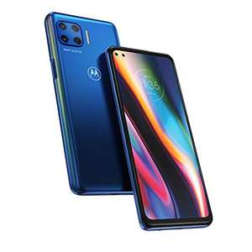 Smartfon Motorola Moto G 5G Plus 4/64 Dual SIM, 90 Hz HDR 10, Snapdragon 765, 5000 mAh (Surfing Blue) Amazon.it