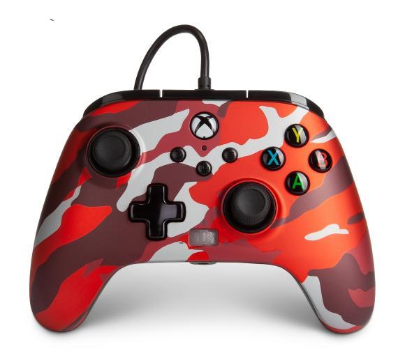 gamepad PowerA Pad Xbox Series / Xbox One Enhanced Metalic Red Como