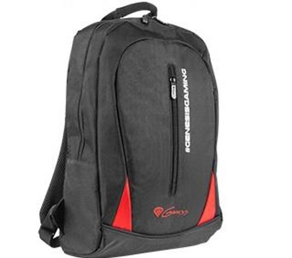 """Plecak Genesis Pallad 100 na laptop do 15,6"""" (czarny). Dostawa do sklepów bez kosztów wysyłki."""