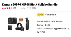 Outlet Mediamarkt Kamera GOPRO HERO8 Black Holiday Bundle