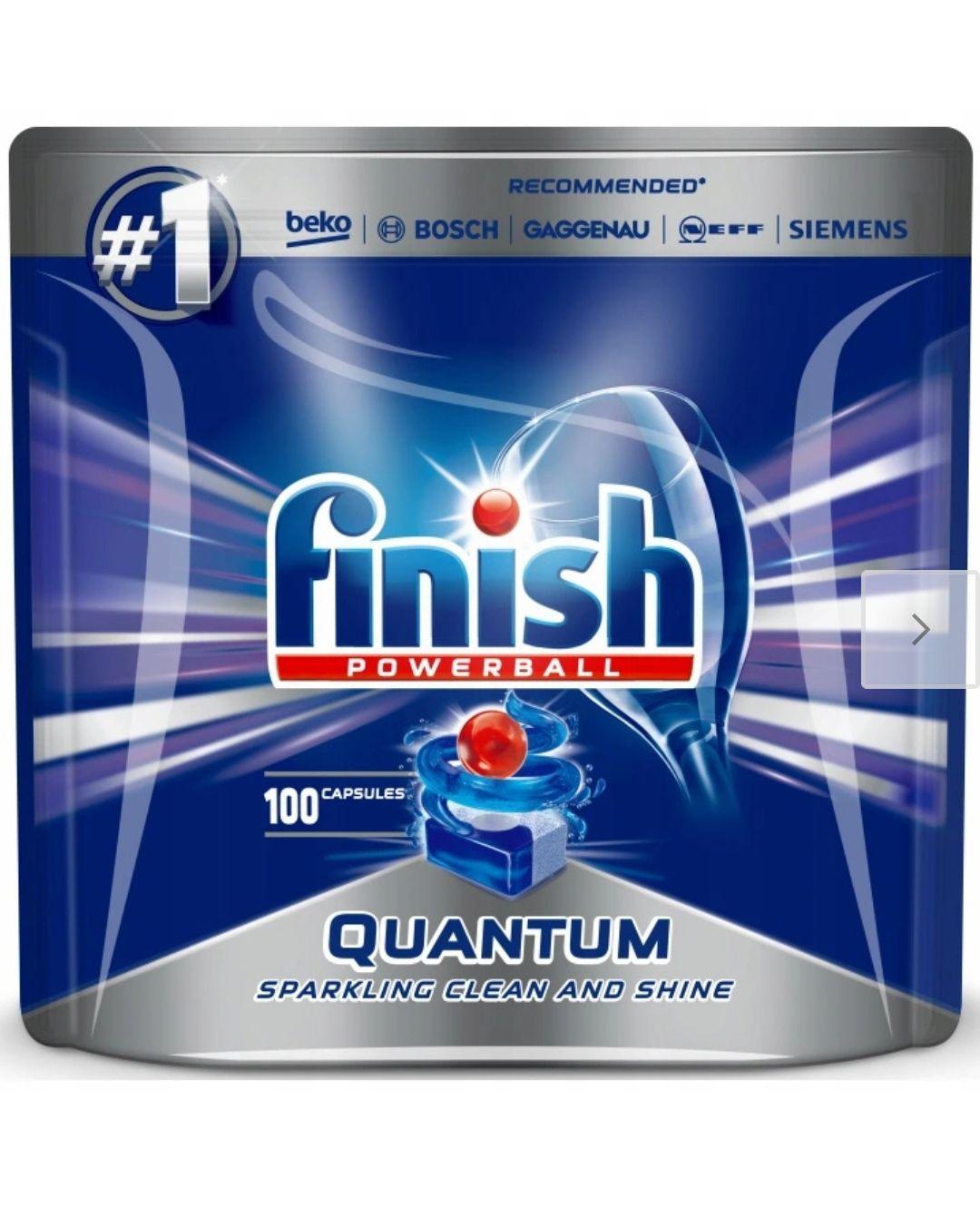 Kapsułki do zmywarki Finish Quantum 100szt.