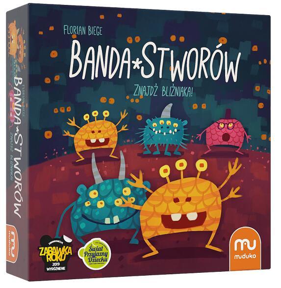 Gra planszowa - Banda Stworów (BGG 7.1) @Merlin / Gra edukacyjna, nauka języka