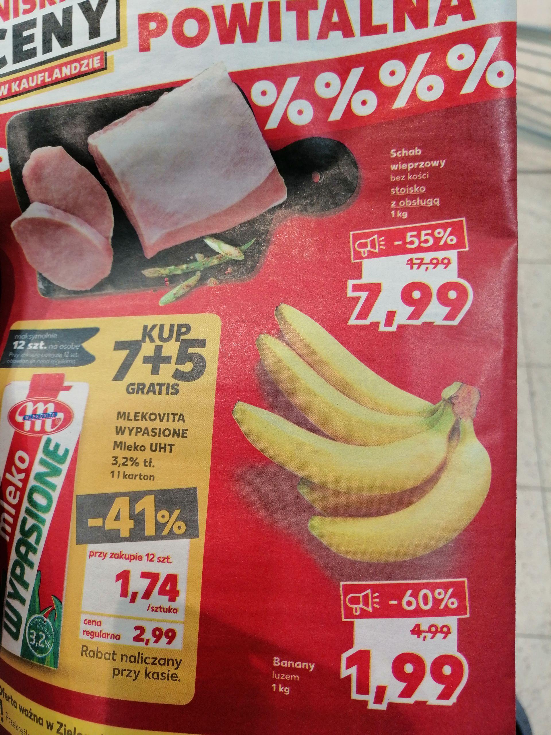 Banany 1,99/kg